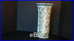 A Tall Stunning Hand painted French Desvres Vase