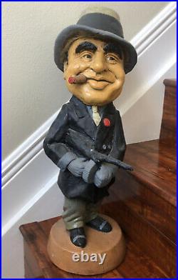 Al Capone Statue 1972 Made By Kimro 22 Tall 20.2lbs VERY RARE