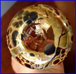 Bendzunas Art Glass Studio Gorgeous Hand Blown Water Or Glass 6 Tall