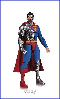 DC Essentials Cyborg Superman Action Figure, Cyborg Superman stands 6.86 Tall