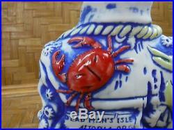 Dead Man's Isle Captain Tiki Mug Blue Handpainted 8 tall 30oz New in Box 283