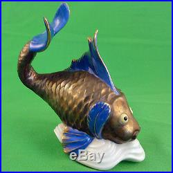 FISH KOI CARP figurine by Herend 6 tall NEW NEVER SOLD made in Hungary