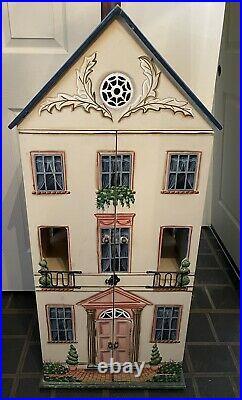 Handpainted Handmade Wooden Doll House 44 Tall