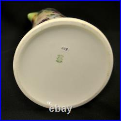Limoges Guerin Tankard Pitcher 14.75 Tall Hand Painted Purple Plums 1900-1932