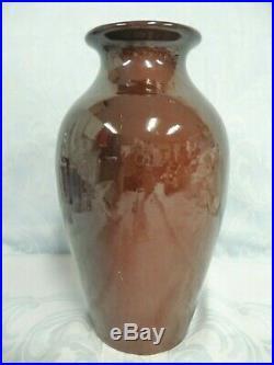 Lovely Vintage 1980 Weller Louwelsa 11-1/4 Tall Art Pottery Vase, Hand Painted