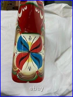 New Grannas A. Olsson Swedish hand painted large Dala Horse 50cm, 19.68tall