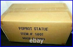 Sideshow Popbot Statue Brand New Shipper Sealed 15 Tall Hand Painted