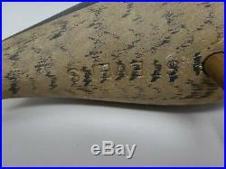 Signed STEVENS Original Shore Bird Decoy Hand painted & Carved 14.5 Tall