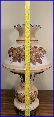 Vintage1971L&L WMCGone With the Wind Lamp3 WayHand Painted26 Tall